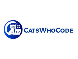 CatsWhoCode logo design by justin_ezra