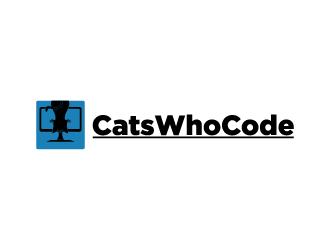 CatsWhoCode logo design by fastsev