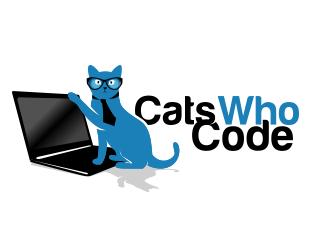 CatsWhoCode logo design by schiena
