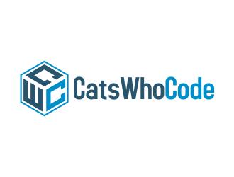 CatsWhoCode logo design by done