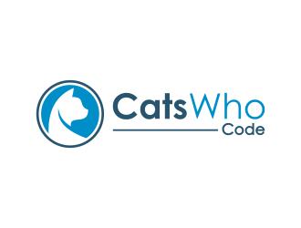 CatsWhoCode logo design by ubai popi
