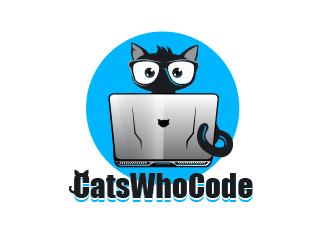 CatsWhoCode logo design by firstmove