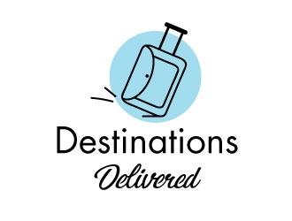Destinations Delivered logo design