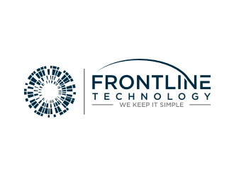 Frontline Technology logo design