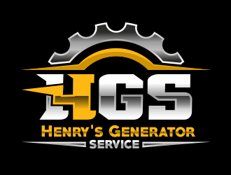 Henrys Generator Service  logo design