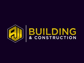 AJI Building & Construction logo design