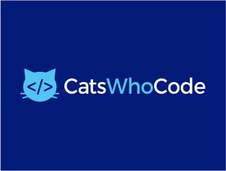 CatsWhoCode logo design by kimora