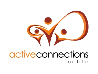 Active Connections For Life logo design