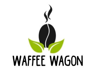 Waffee wagon logo design by ElonStark