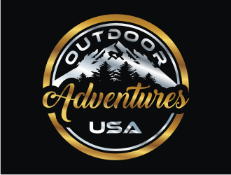 Outdoor Adventures USA logo design