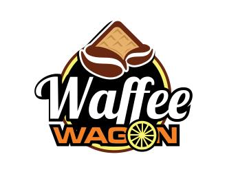 Waffee wagon logo design by semar