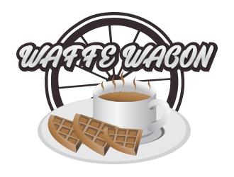 Waffee wagon logo design by Boooool