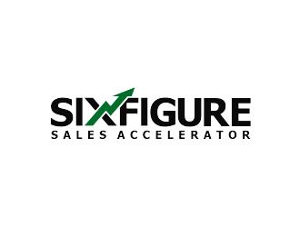 Six-Figure Sales Accelerator logo design