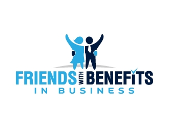 Friends With Benefits In Business logo design winner