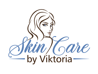 Skin Care by Viktoria logo design