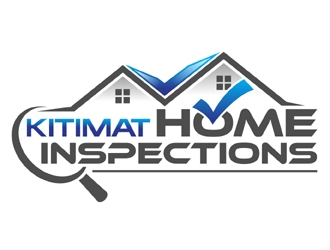Kitimat home inspections  logo design