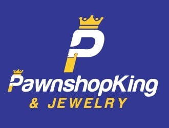 PawnshopKing & Jewelry logo design