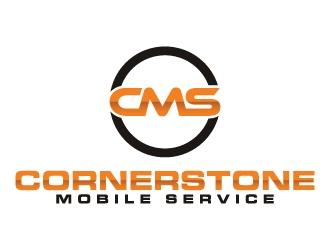 Cornerstone Mobile Service logo design winner