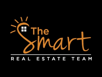 The Smart Real Estate Team  logo design