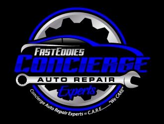 Fast Eddies Concierge Auto Repair Experts logo design winner