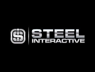 Steel Interactive Inc. logo design