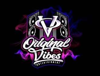Original Vibes Entertainment logo design