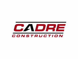Cadre Construction logo design