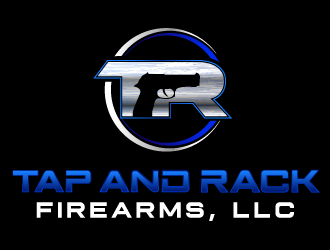 Tap and Rack Firearms, LLC logo design
