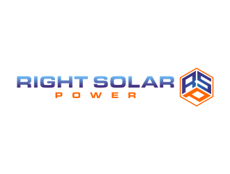 Right Solar Power logo design winner