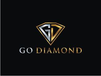 Go Diamond logo design
