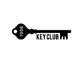 1008 Key Club (The Key Club) logo design