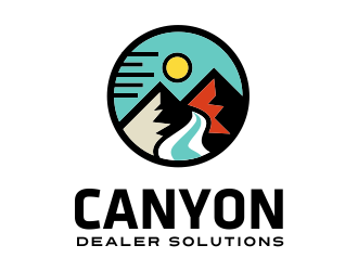 Canyon Dealer Solutions logo design