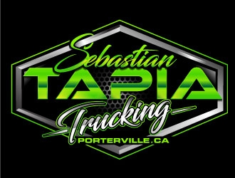 Sebastian Tapia Trucking logo design