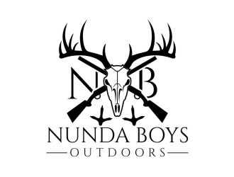 Nunda Boys Outdoors  logo design