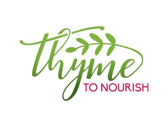 Thyme To Nourish logo design