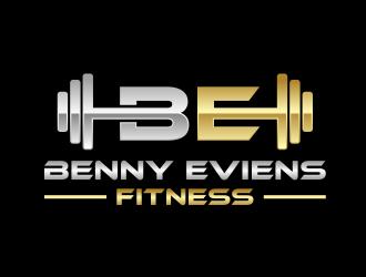 Benny Eviens Fitness  logo design