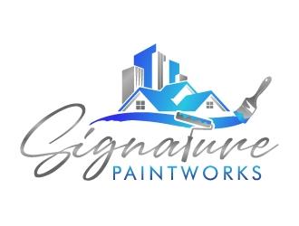 Signature Paintworks  logo design