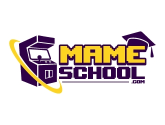 mameschool.com logo design