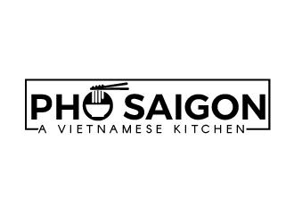 Pho Saigon  logo design