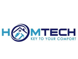 HOMTECH logo design
