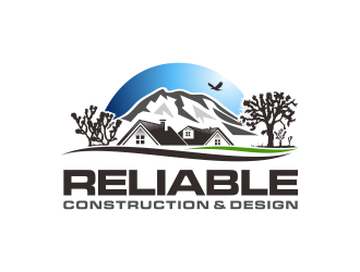 Reliable Construction & Design logo design