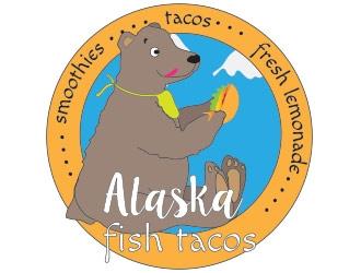 Alaska Fish Tacos  logo design by not2shabby