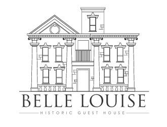 Belle Louise Historic Guest House Logo Design 48hourslogocom