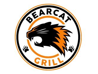 Bearcat Grill logo design