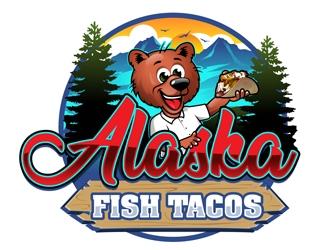Alaska Fish Tacos  logo design by DreamLogoDesign