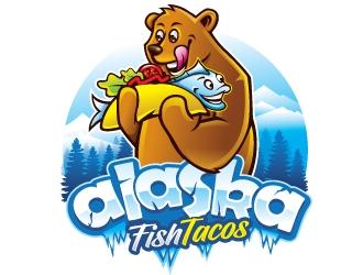 Alaska Fish Tacos  logo design by REDCROW