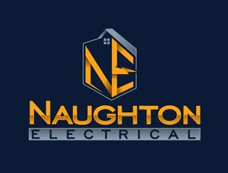 Naughton Electrical  logo design winner