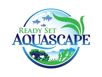 Ready Set Aquascape Logo Design 48hourslogo Com