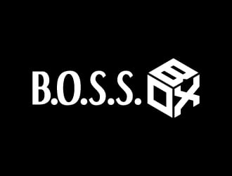 B.O.S.S. BOX logo design