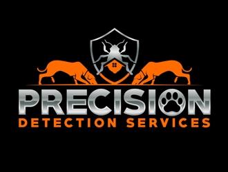 Precision Detection Services logo design